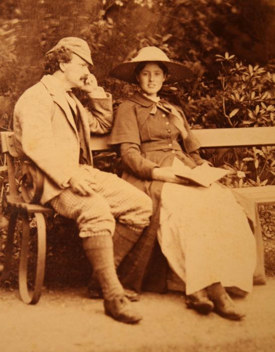 Hamo Thornycroft and Agatha Cox (later Thornycroft)