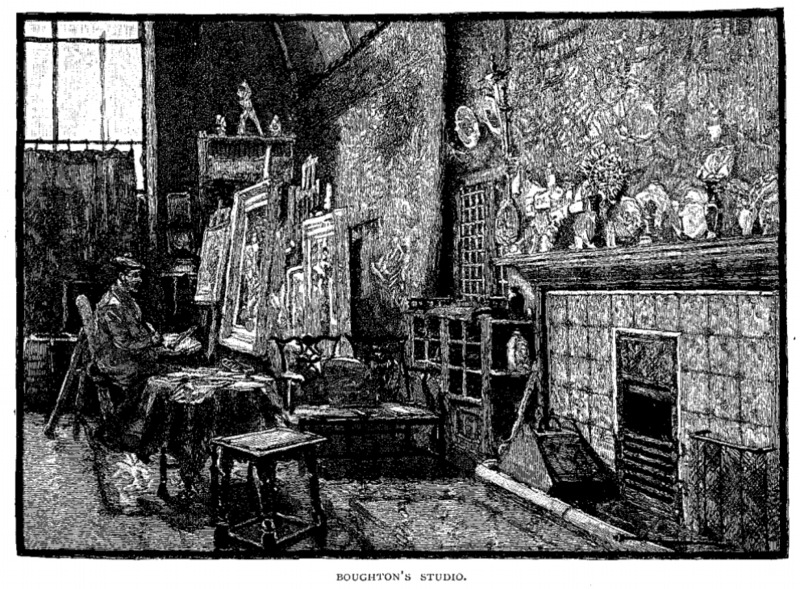 Drawings of George Boughton's Studio