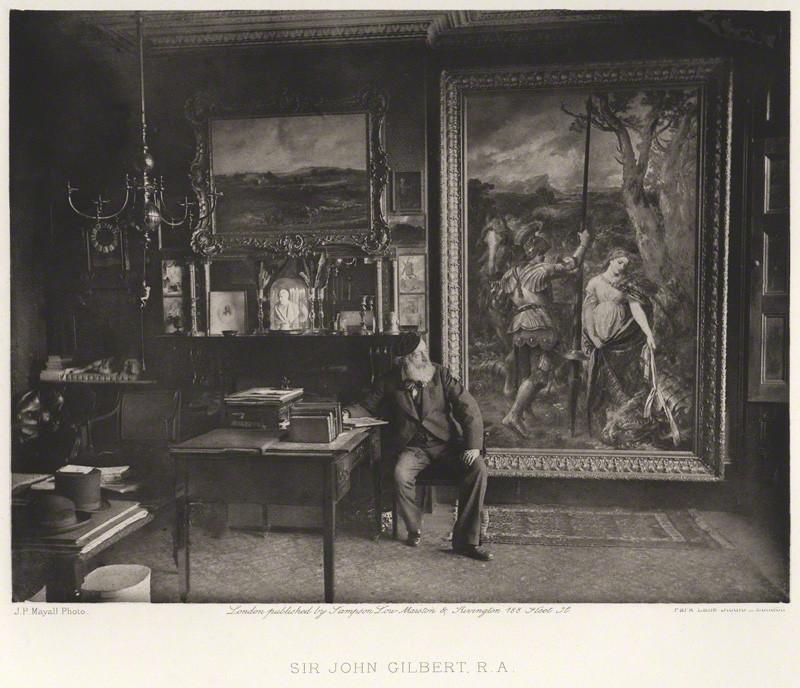 SIR JOHN GILBERT, R.A.