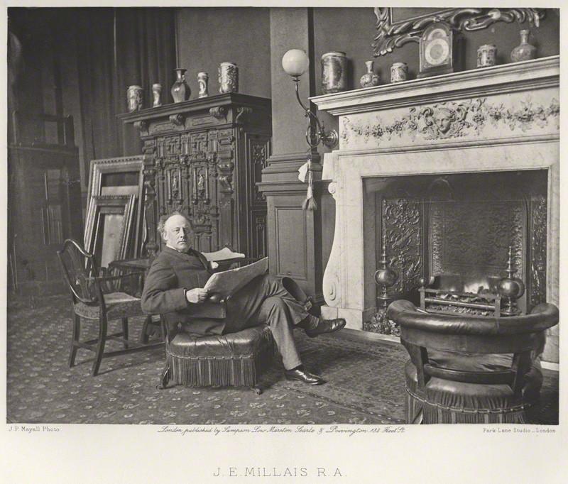J.  E. MILLAIS, R.A.