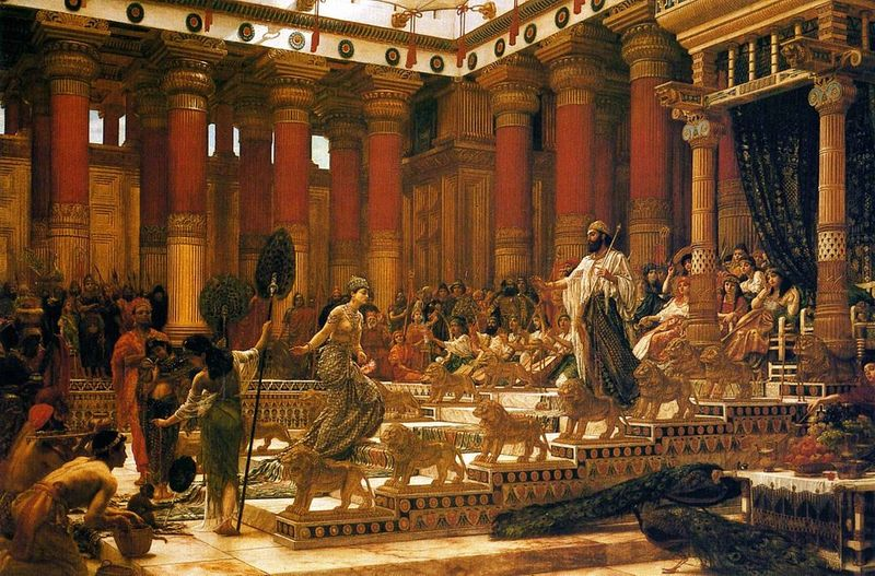 <em>The Visit of the Queen of Shea to King Solomon </em>