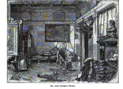 Alma-Tadema's studio