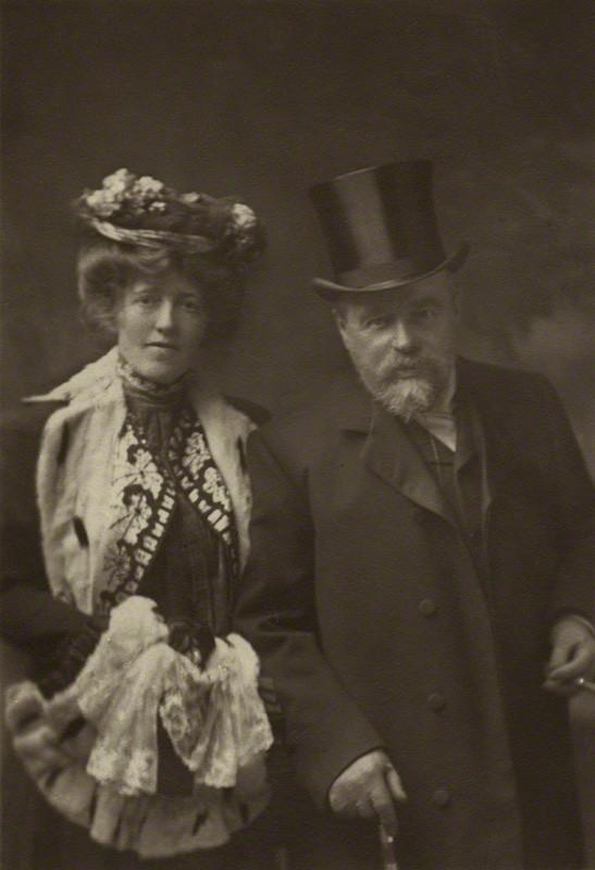 Laura Theresa (née Epps), Lady Alma-Tadema; Sir Lawrence Alma-Tadema