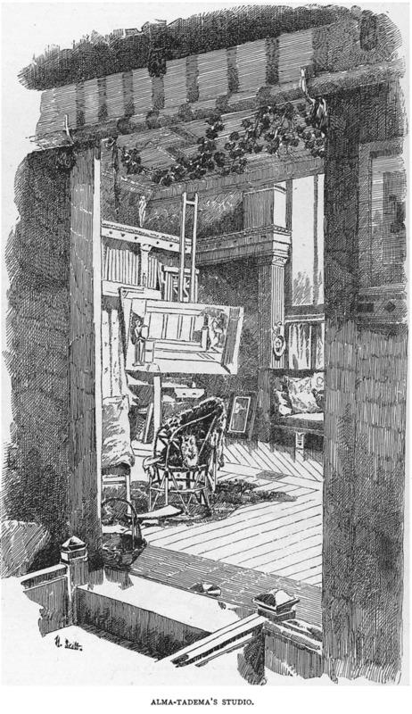 Alma Tadema's Studio