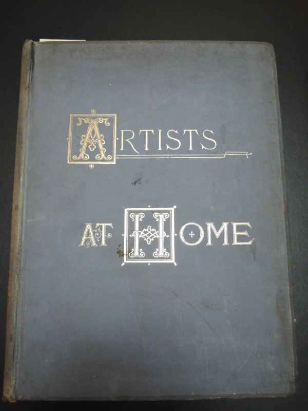 Copy of <em>Artists at Home</em> owned by Centre Canadien d'Architecture