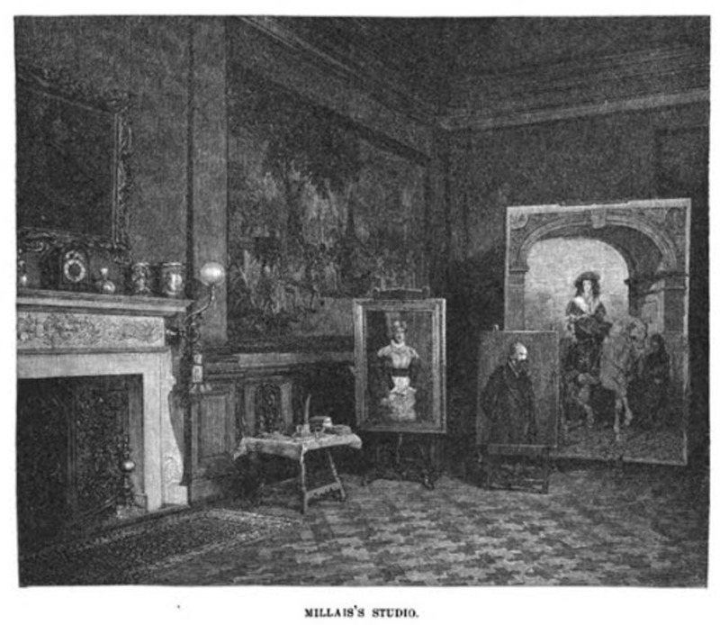 Drawings of Millais's' Studio