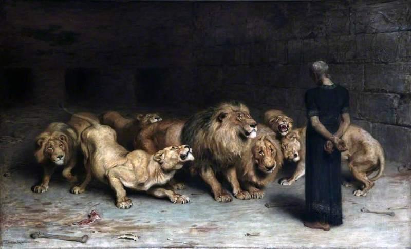 <em>Daniel in the Lion's Den</em>