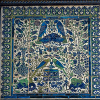 Tile Panel with Birds