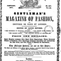 Pages from The Gentleman's Magazine of Fashion