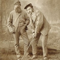 Old Tom Morris and Young Tom Morris