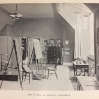 Kate Greenaway's Studio